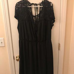Lace/ Chiffon Formal Dress